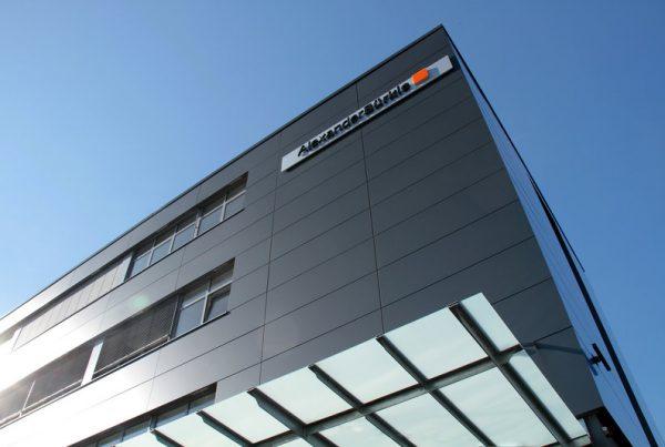 Genio Gewerbeimmobilie in Freiburg Bürogebäude Logo